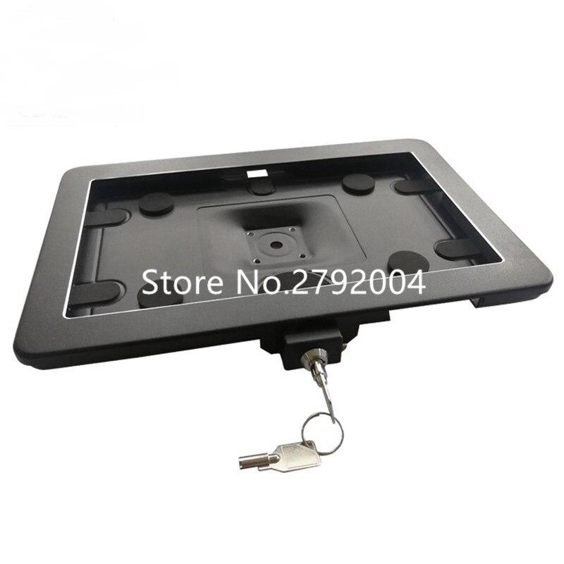 10 5 polegada tablet pc android caso de montagem na parede em liga de aluminio tablet