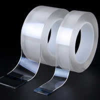 Nano Magic Double Sided Tape Transparent No Trace Acrylic Reuse Waterproof Adhesive Tape