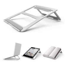 Top Portable Laptop Stand Foldable Notebook Holder Aluminum Alloy Computer Cooling Bracket For Macbook Dell Lenovo Acer ASUS