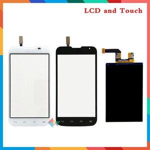 """Высокое качество 4,5 """"для LG Optimus L70 D325 ЖК-дисплей экран + сенсорный экран дигитайзер сенсор + Инструменты Бесплатная доставка"""