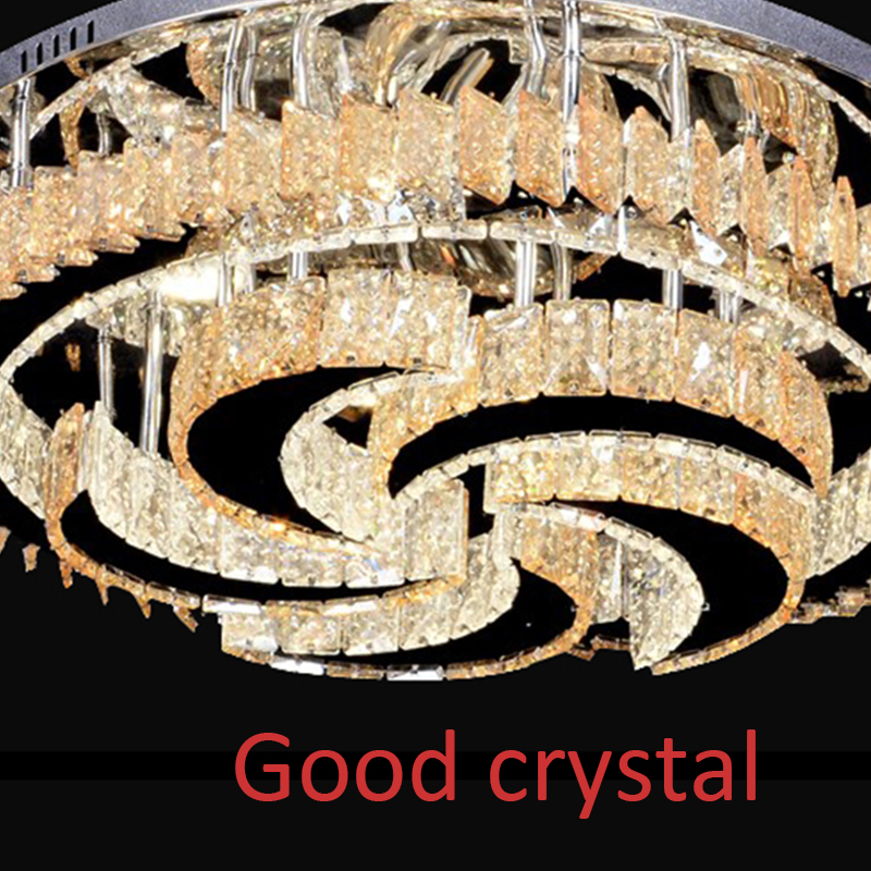 Modern Crystal Chandeliers Home Lighting lustres de cristal Decoration Luxury Candle Chandelier Pendants Living Room Indoor Lamp - 6