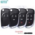 Модифицированный складной Автомобильный ключ OkeyTech для Chevrolet Cruze, Epica, Lova, Camaro, Impala, Aveo, Malibu, для VAUXHALL Insignia