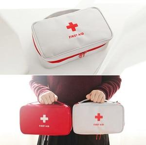 Image 5 - Portable First Aid Kit Emergency Bag Waterproof Car Kits Bag Outdoor Travel Survival Kit Empty Bag 23*13*7.5cm