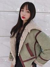 Женская куртка из натуральной овечьей шерсти OFTBUY, теплая уличная куртка из натуральной кожи с подкладкой из натурального меха, зима 2020