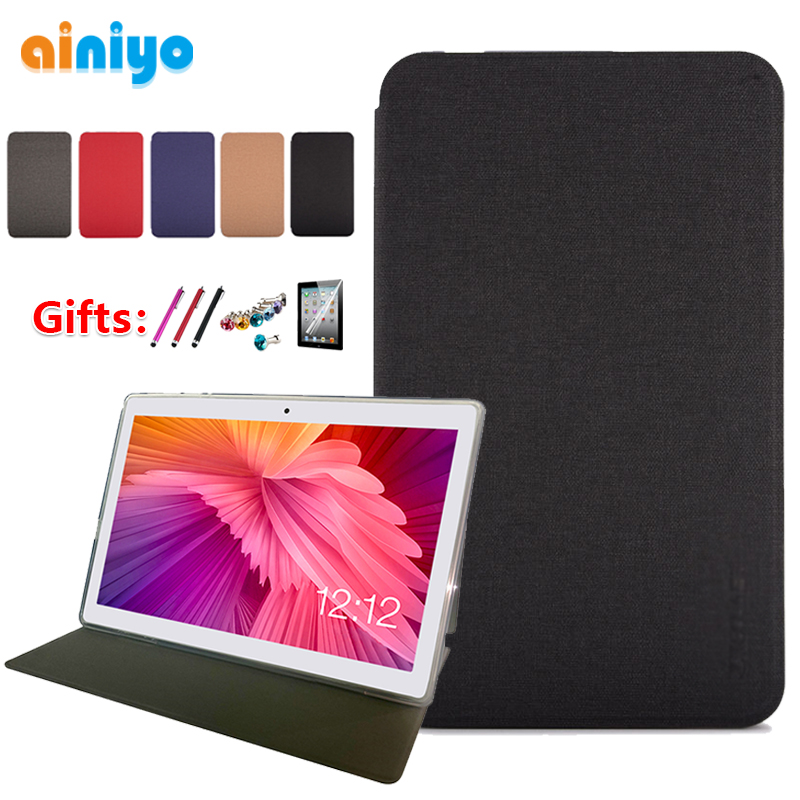 """Case For Teclast M30 10.1""""Tablet Pc Stand Case 10.1 Inch stand Pu Leather Cover for 2019 Teclast M30 + gifts-in Tablets & e-Books Case from Computer & Office"""