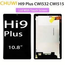 10.8 posegada lcd com tela de toque painel matriz display digital sensor vidro para chuwi hi9 plus cwi515 tela tablet