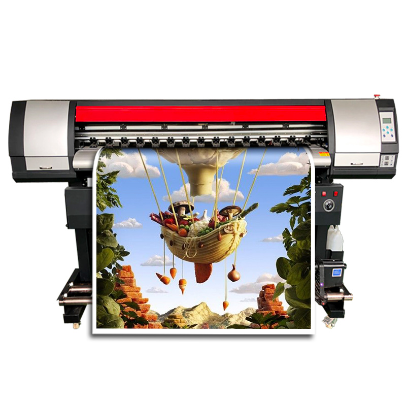 Roll To Roll Sublimation Printer Fast Speed Inkjet Wide Format Digital Sublimation Printer For Tshier Fabric