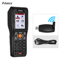 433MHZ Wireless &USB Wired Data Terminal Inventory 1D Barcode PDT Barcode Scanner Data Collector with 2.2 Inch TFT Color Screen
