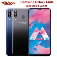 Samsung galaxy a40s original 4g lte android telefone celular octa núcleo 6.4