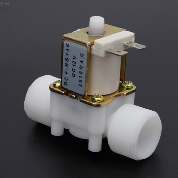 3 4 #8222 DC12V PP N O elektryczna cewka zawór kontroli wody urządzenie przełączające tanie i dobre opinie U50A6A60400