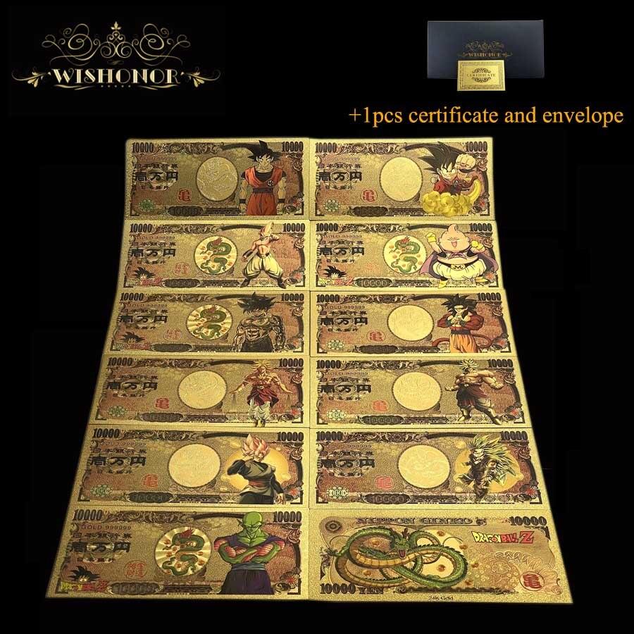 21 шт./компл. 2021 новые японские банкноты аниме банкноты для коллекции