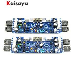 Image 1 - 2 STUKS Audio L12 2 Eindversterker Kit 2 Channel Ultra lage Vervorming Klassieke AMP DIY Kit Afgewerkt Board A10 011