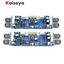 Kit de amplificador de áudio L12-2, 2 peças, ultra-baixo, distorção, clássico, diy, kit de placa terminada A10-011