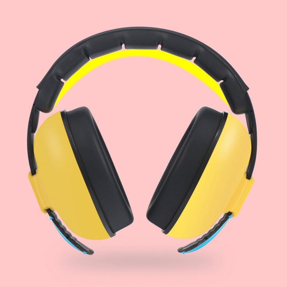 Baby Noise Prevention Soundproof Earmuffs Learn Sleep Noise Reduction Headphones Children Baby Protective Earmuffs