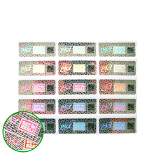 500PCS Laser Original Case Label Disposable Adhesive Warranty Stickers