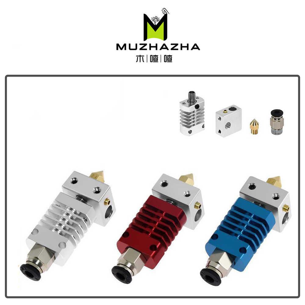 10S Ender 3 Sichuan 1Set 3D Printer Parts all Metal Hotend Extruder Kit per CR-10 3S