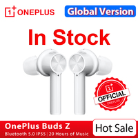 OnePlus Buds Z auricular, inalámbrico por Bluetooth 5, para OnePlus 8 8T Nord N10, tienda oficial, 20 horas de batería;código: EDSES4(€30-4)