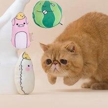 Morde resistente gato mastigar brinquedo para pequenos gatos gotas animais bonitos forma brinquedos para animais de estimação com catnip masetas sullipes katten speelgoed