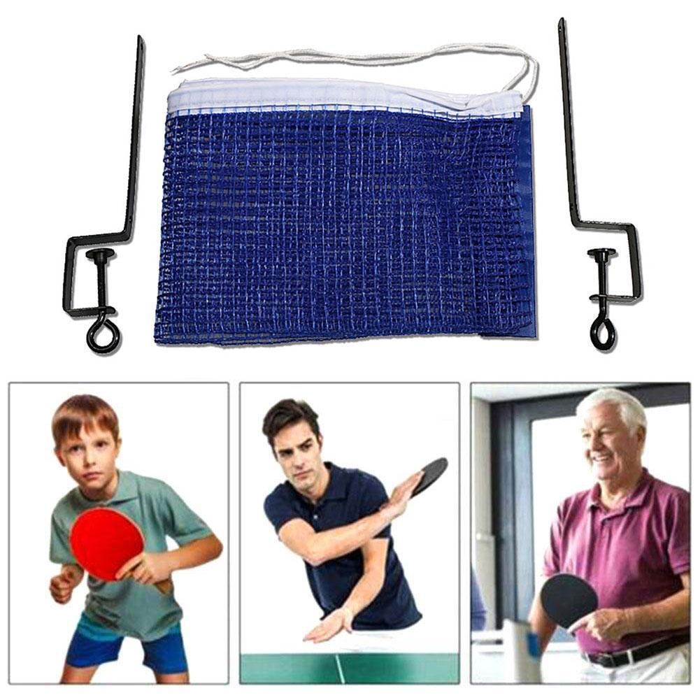 Portable Table Tennis Net Set Ping Pong Ball Fix Equipment Training Net Tennis Kit Tennis Accessories Table Table G5X3