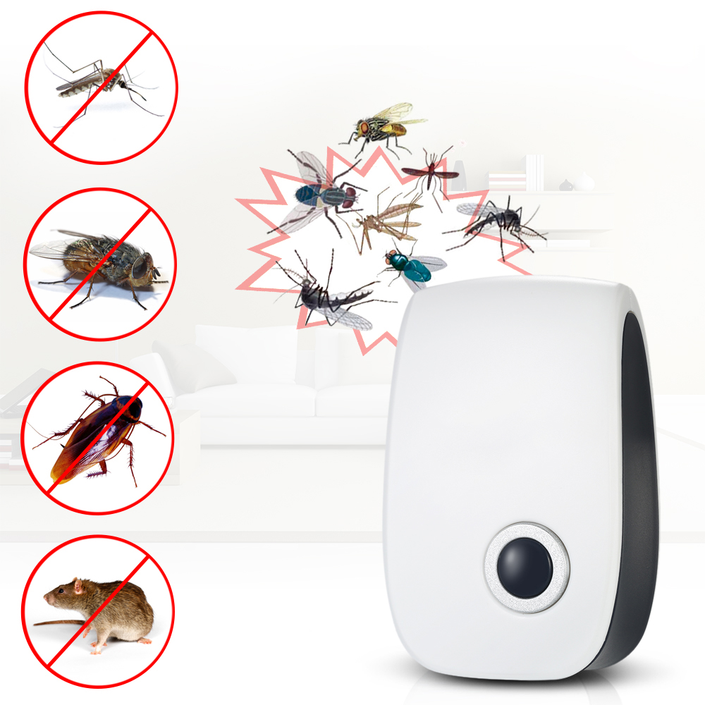 Hot New Electronic Ultrasonic Pest Repeller Insects Control Non toxic Ants Mosquito Repelling Mouse Mice Pests Repeller US AC90V|Repellents| |  - title=