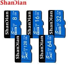 Cartão de memória do flash do usb do sd 32gb classe 10 de alta velocidade do cartão sd 8gb 16gb transflash sdhc tf