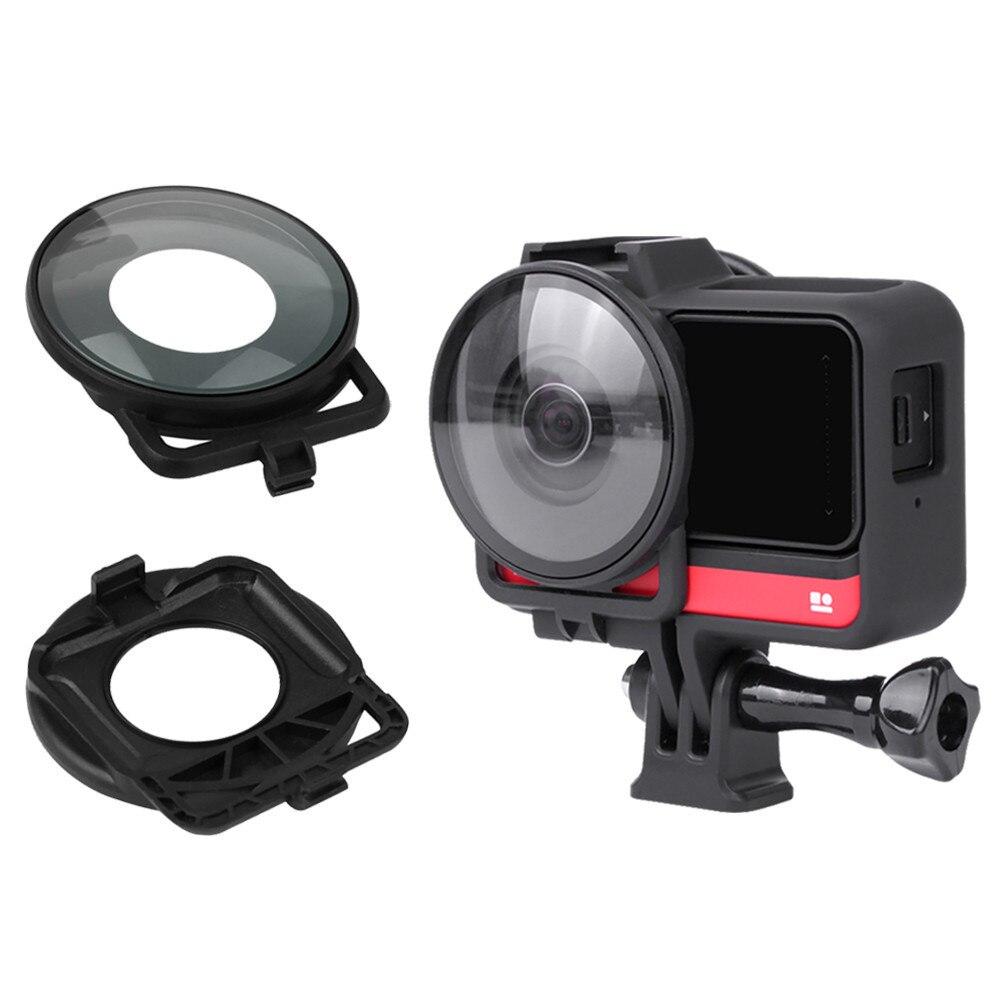 Защита для объектива Insta360 One R с двумя линзами, защитная крышка для объектива камеры, аксессуары для объектива Insta 360 One R, аксессуары для панор...