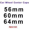 Автостайлинг 4 шт. эмблема логотипа автомобиля для Bmw Vw для Volvo и Toyota Mazda Honda Kla 56 мм 60 мм 64 мм ABS/ПВХ колпачки для центра колес