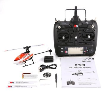 XK K110 6CH 3D 6G System Mini RC Remote Control Helicopter Drone Toys with Built in Gyro RTF for Gift Present