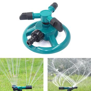 Obrotowy System zraszania ogrodu 360 stopni automatyczne nawadnianie narzędzia do ogrodu domowego bezpieczne akcesoria tanie i dobre opinie Watering Sprinkler Other