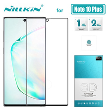 for Samsung Galaxy S20 Ultra S10 S8 S9 Plus S10E Nillkin 3D Full Cover Tempered Glass Screen Protector for Samsung Note 10 9 8