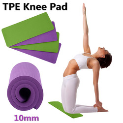 3 in 1 TPE Yoga Knee Pads High Density Non Slip Thick 10 mm Knees Wrists and Elbows Pad for Yoga Pilates Ab Wheel Floor Exercise
