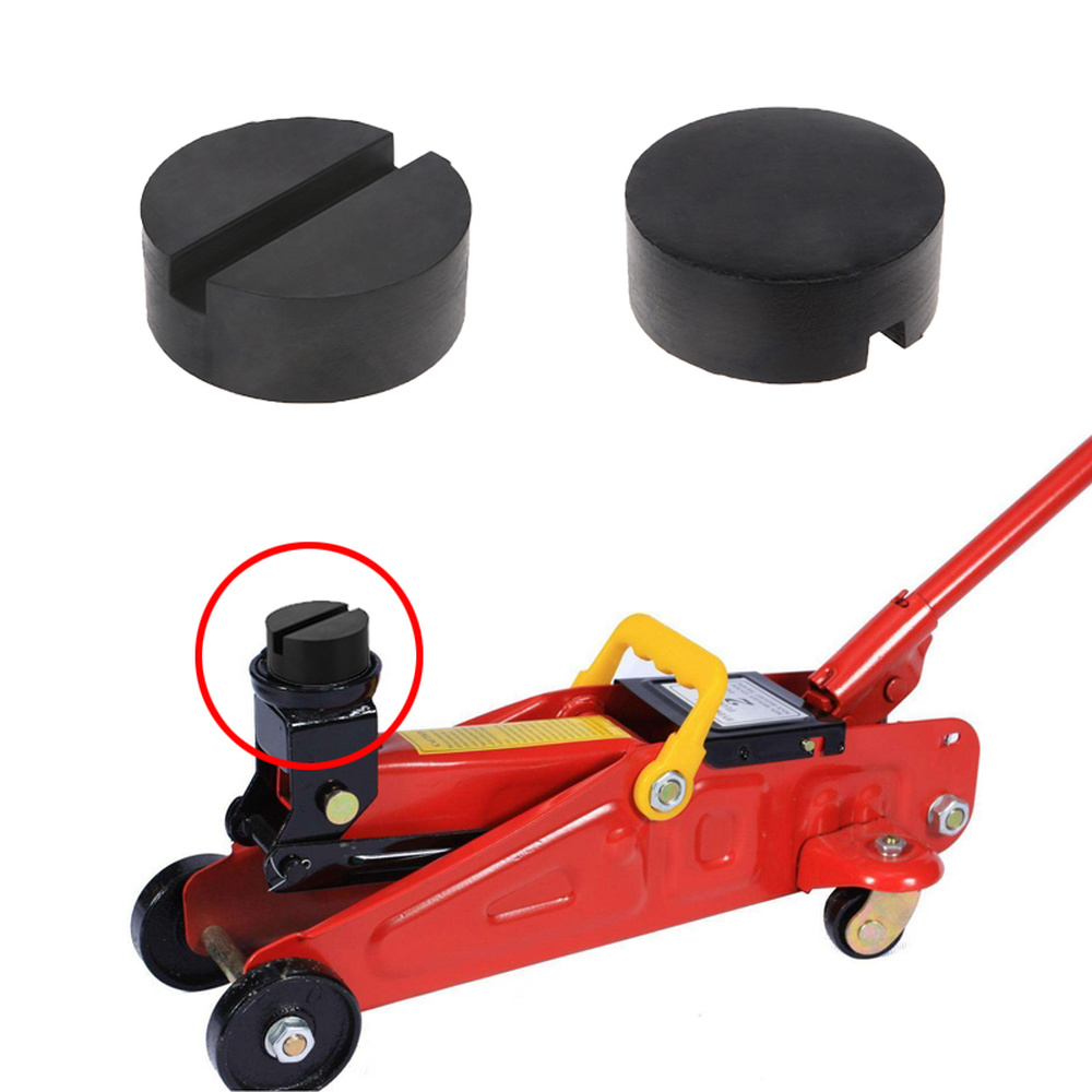 1Pc Universal 4 Ton Car Lift Jack Stand Rubber Pads Block Enhanced Type Car Repair Tools For BMW Audi Benz VW Skoda Ford Toyota