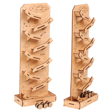 Wooden Puzzle Children Adult Interesting Space Tank Stress Relief Toy DIY Wooden Novelty Gag Toy Sports & Entertainment
