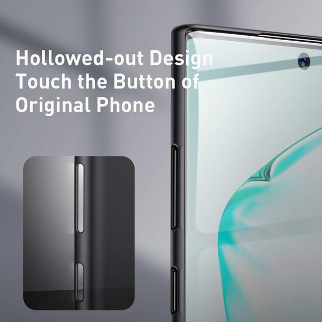 Baseus Samsung Galaxy Note 10 Plus 0.4mm Ultra Thin Slim Hard PP Back Case Cover