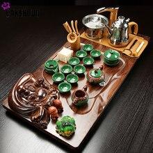 Чайный набор кунг фу бытовой Индукционная Плита чайный поднос
