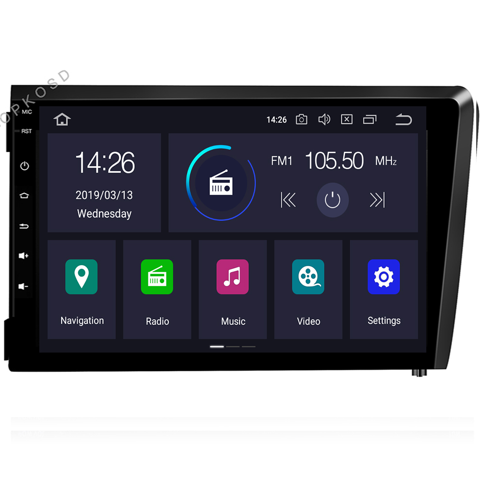 IPS DSP 8 core 4G 64G <font><b>2</b></font> <font><b>Din</b></font> Android 9 Car Multimedia player DVD GPS audio For <font><b>VOLVO</b></font> <font><b>S60</b></font> V70 XC70 2000-2004 Car <font><b>radio</b></font> Stereo obd2 image