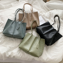 New Luxury Alligator Design Shoulder Bags 2020 Fashion Women Large Capacity Bag Phone PC Handbag PU Leather Lady Casual Tote Bag fashion style women s tote bag with pu leather and crocodile print design