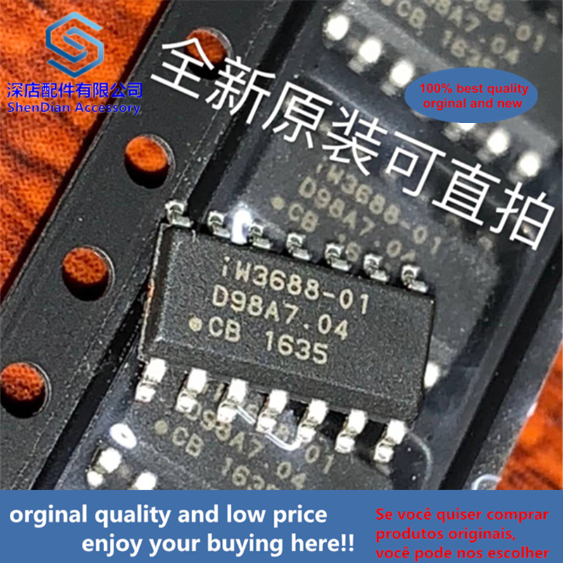 10pcs 100% Orginal And New IW3688-01 IWATT SOP14 SOP 3688-01   Best Qualtiy