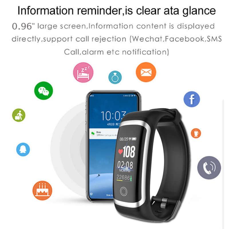 Wearpai SmartWatch ผู้ชายผู้หญิง M4 Heart Rate ความดันโลหิตการแจ้งเตือน Call Reminder ถ่ายภาพกีฬานาฬิกาสำหรับ iOS และ Android