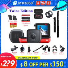 Insta360 One R Action Camera VR 360 4K 5.7K Twins Edition Panoramic Camera for iPhone x xs Android 5.7K Video 18MP Insta 360