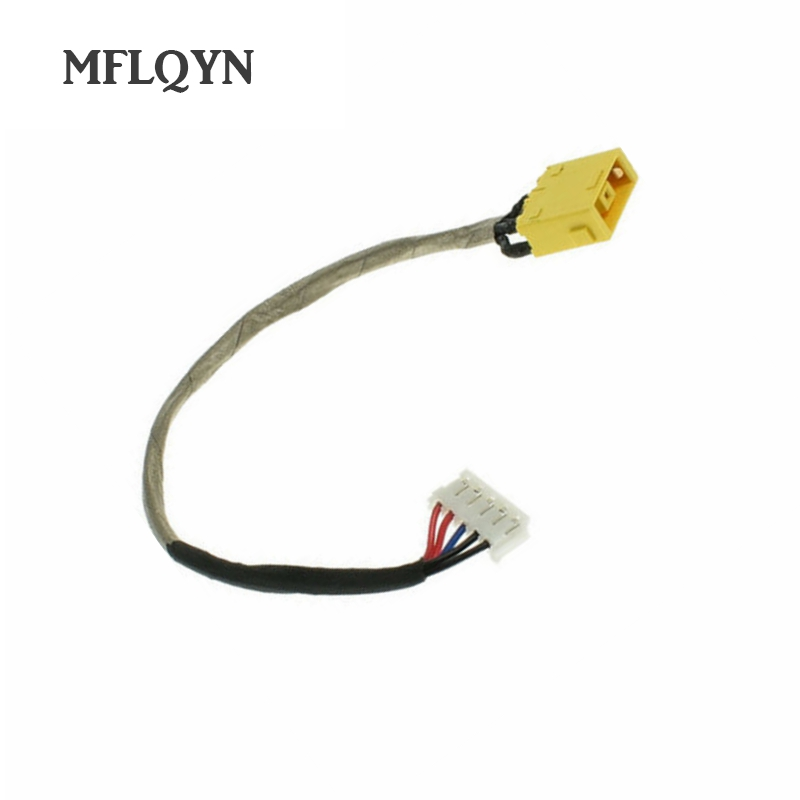 Computer Cables 10PCS Laptop DC Jack Power Socket Connector Haress Cable for Lenovo B560 V560 Series Cable Length: 1PCS