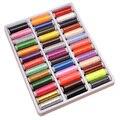 39 teile/paket Gemischt Farbe Reinem Polyester Nähgarn Spool Für Hand und Maschine Gewinde zu Nähen GYH