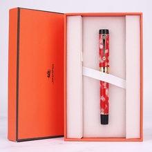 Jinhao – stylo à encre en métal de haute qualité, plume de luxe, cadeau de bureau pour écriture