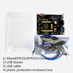 Image 3 - แบบพกพาชุดพัฒนา ALTERA Cyclone IV EP4CE6 EP4CE10 บอร์ดพัฒนา FPGA Altera NIOSII FPGA + USB Blaster