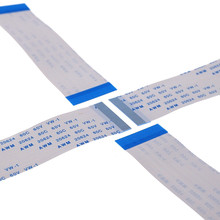 100 Stuks Ffc Fpc Flexibele Platte Kabel 40 Pin 0.5 Mm Pitch Dezelfde Zijden Lengte 60 Mm 80 100 120 150 200 250 300 400 500 Mm Zif