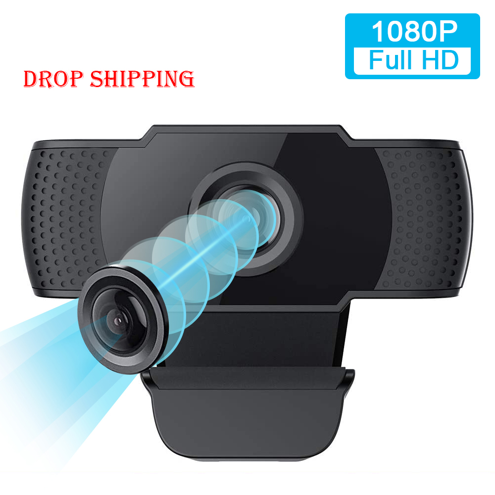Webcam With Microphone 1080P HD Webcam Streaming Computer Web Camera USB2.0 Computer Camera For PC Laptop Desktop Video Calling