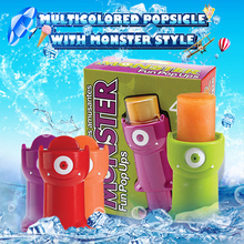 Kitchen Refrigerator Popsicle Mould of BPA Free Plastic Ice Cream Mold DIY Lolly Pop Tools Freezer Pops Maker