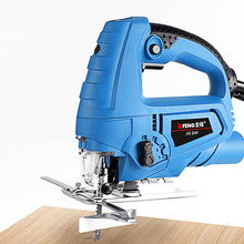 710W Jigsaw Hand Electric Reciprocating Chain Saw Tools Metal Cutting Jig Saw Machine Power Tool Chainsaw with 10 Pieces Blades 650w jig saw electric saw woodworking power tools multifunction chainsaw hand saws cutting machine wood