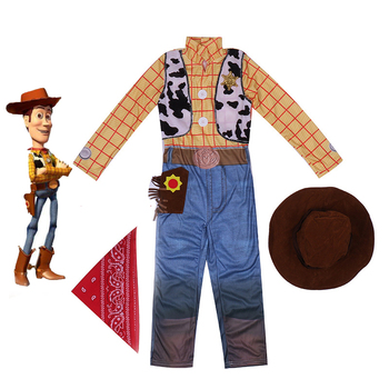 New Boys Cartoon Woody Deluxe Children Kids Birthday Party Fancy Dress Costume kids birthday halloween party gift new child boy deluxe star wars the force awakens storm troopers cosplay fancy dress kids hall