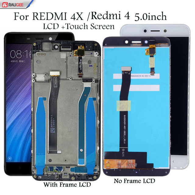 """สำหรับXiaomi Redmi 4 4X 5.0 """"จอแสดงผลLcdหน้าจอสัมผัสเปลี่ยนทดสอบสมาร์ทโฟนหน้าจอLCD Touch Digitizer Assembly"""